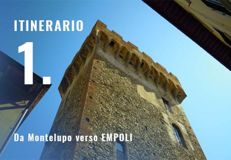 Da Montelupo verso Empoli