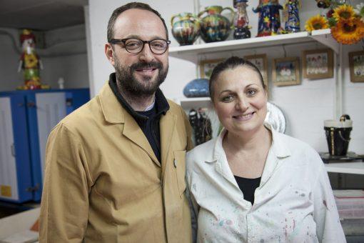 Andrea Sala e Veronica Fabozzo