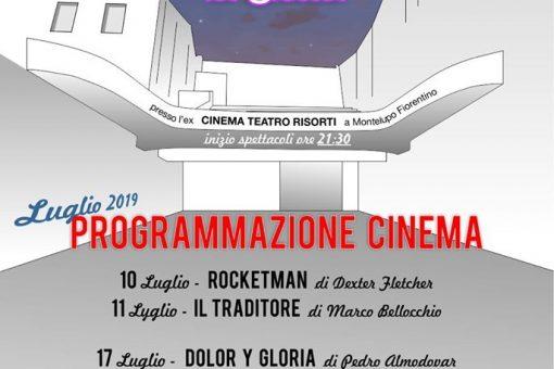 locandina programma cinema mignon sotto le stelle luglio 2019